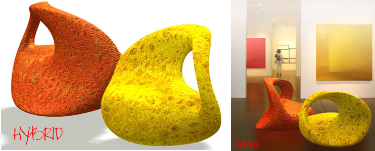 Chairs project for exhibition halls